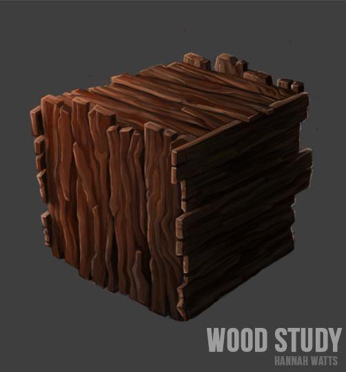 Wood Plank Study Hannah Watts Textures Hand Painted Textures Texture Art Texture