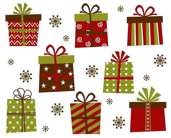 Christmas Gift Boxes Clip Art Xmas Giftboxes By YarkoDesign 449