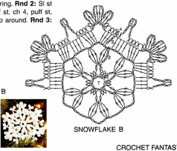 Pin by Максимчук Людмила on Crochet Snowflakes Patterns | Pinterest ...