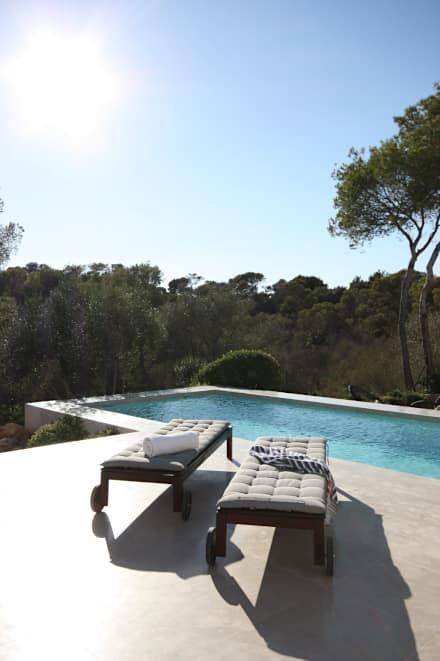 Lieblich 1303: Mediterraner Pool Von Jle Architekten