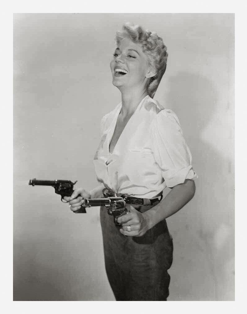Two-Gun Lady (1955) - Peggy Castle