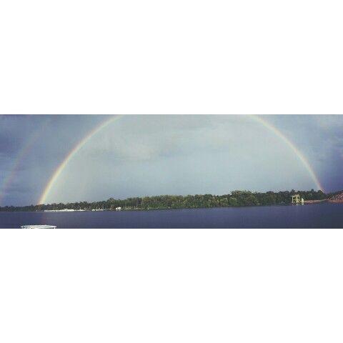 #rainbow #regenbogen #gökusağı #see #sea #göl #rhein #rheinau #photooftheday #photogrid  #Photography