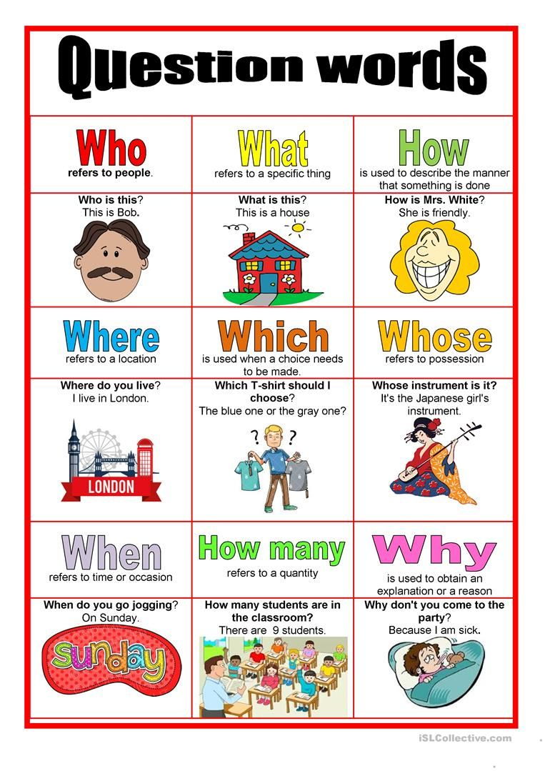 Picture Dictionary Question Words Worksheet Free Esl Printable Worksheets Made By Teac English Phonics English Lessons For Kids English Worksheets For Kids [ 1079 x 763 Pixel ]