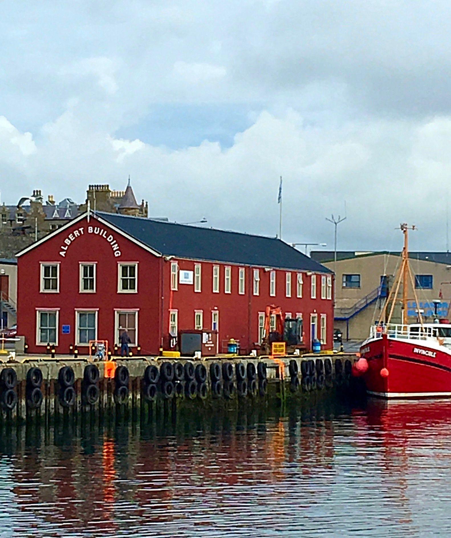 Port at Lerwick, Shetland #shetlandislands