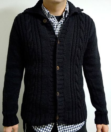 Another cute cardigan that I would love to start, but one thing at a time.