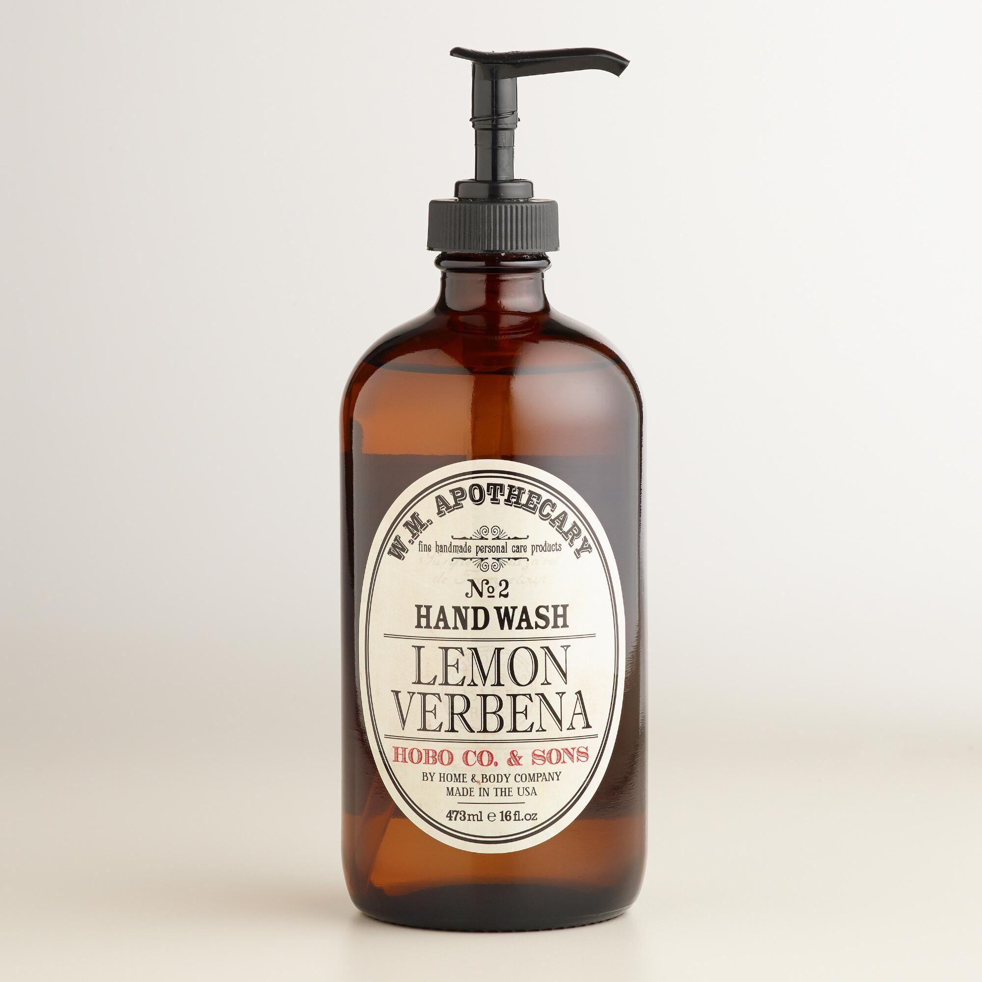 World Market® Apothecary Lemon Verbena Hand Wash   World Market ...