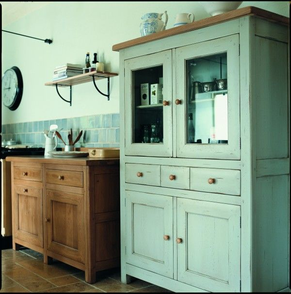 Free Standing Kitchen Cabinets Pictures: Freestanding Units In Different Colours. Didn't Know Fired