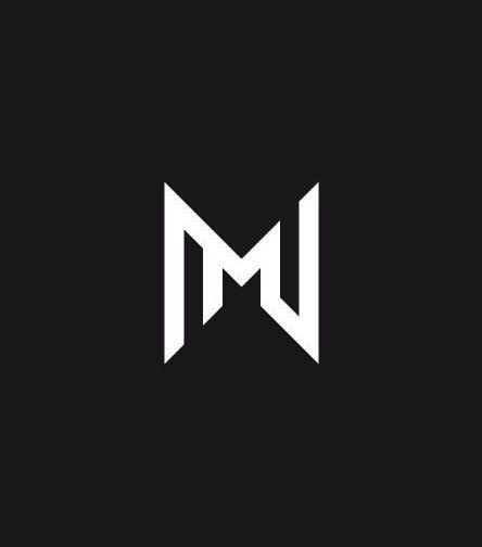 Tattoo Initials Mn: Monogram Logo Design, Logo Design Set