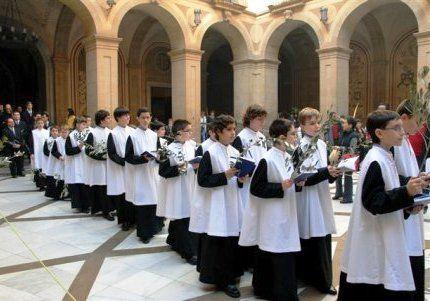 Montserrat Choir boys