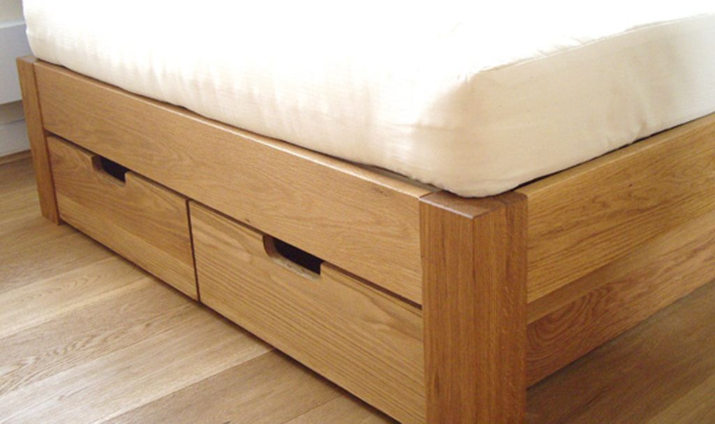 Oak Under Bed Drawers Under Bed Drawers Bed Storage Drawers