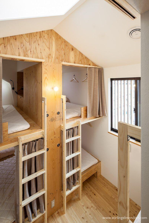 Mitsuwaya Hostel, Osaka, 2016 SWING Architectural Space