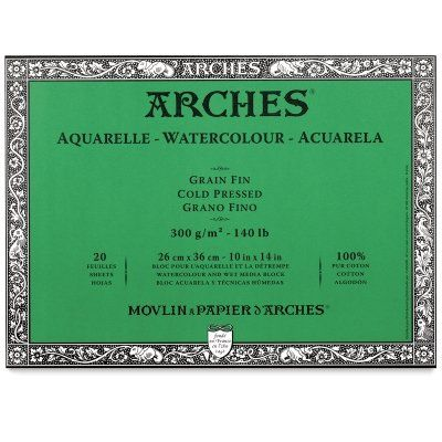 Arches Watercolor Block Cold Press 10x14 Click Image To Review