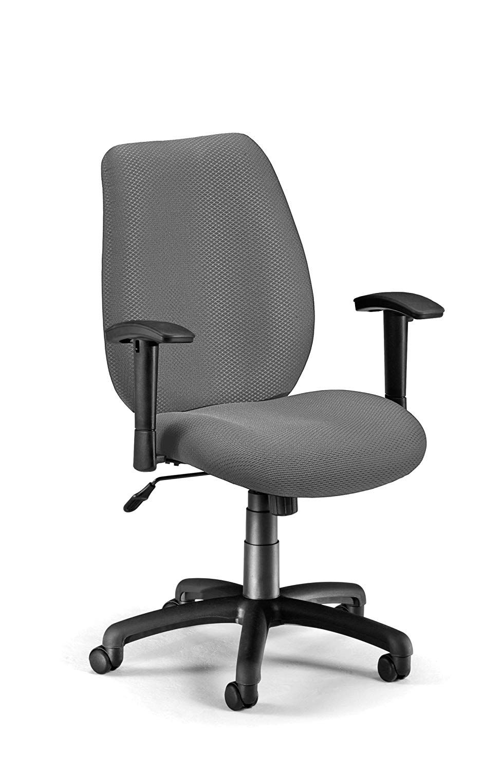 OFM Ergonomic Managers Chair, Graphite Chair, Home