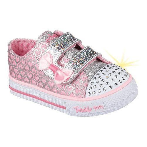 Zapatos plateado de verano Skechers Shuffles infantiles ZqFz9