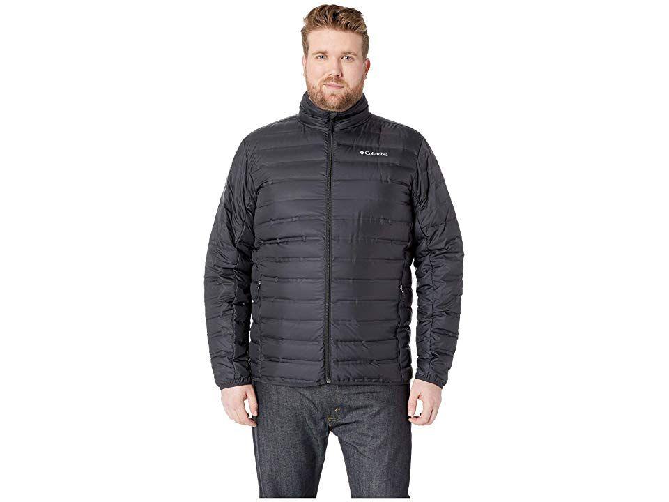 e1638e2be Columbia Big Tall Lake 22tm Down Jacket (Black) Men's Coat. The ...