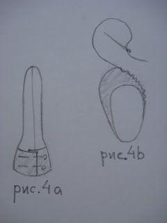 *Люблю шить. Надя Панькив*: Как сшить обувь для Зайки, Куклы... (Вариант 1)