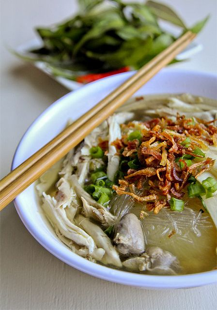 Miến Gà Vietnamese Chicken Glass noodle soup and a Family Story