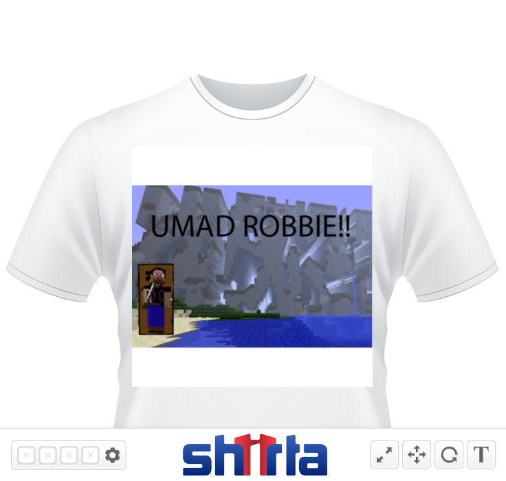 i made this cause my friend robbie is alwase mad and people said they would buy this if i made it lol