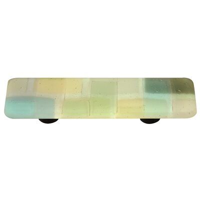 "AquilaArtGlass Mosaic 3"" Center to Center Bar Pull 