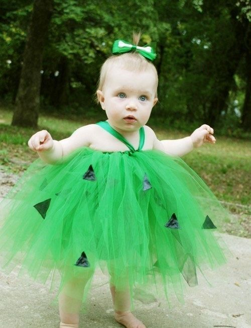 Pebbles Tutu Costume great for Halloween Birthdays Portraits the-tulle-box  sc 1 st  Pinterest & Pebbles Tutu Costume 12M to 5T | Halloween birthday Tutu dresses ...