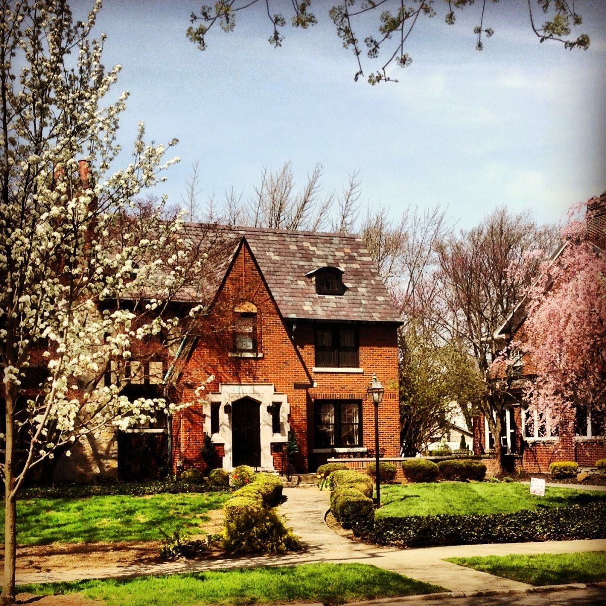 Do you think Spring looks good on our homes?