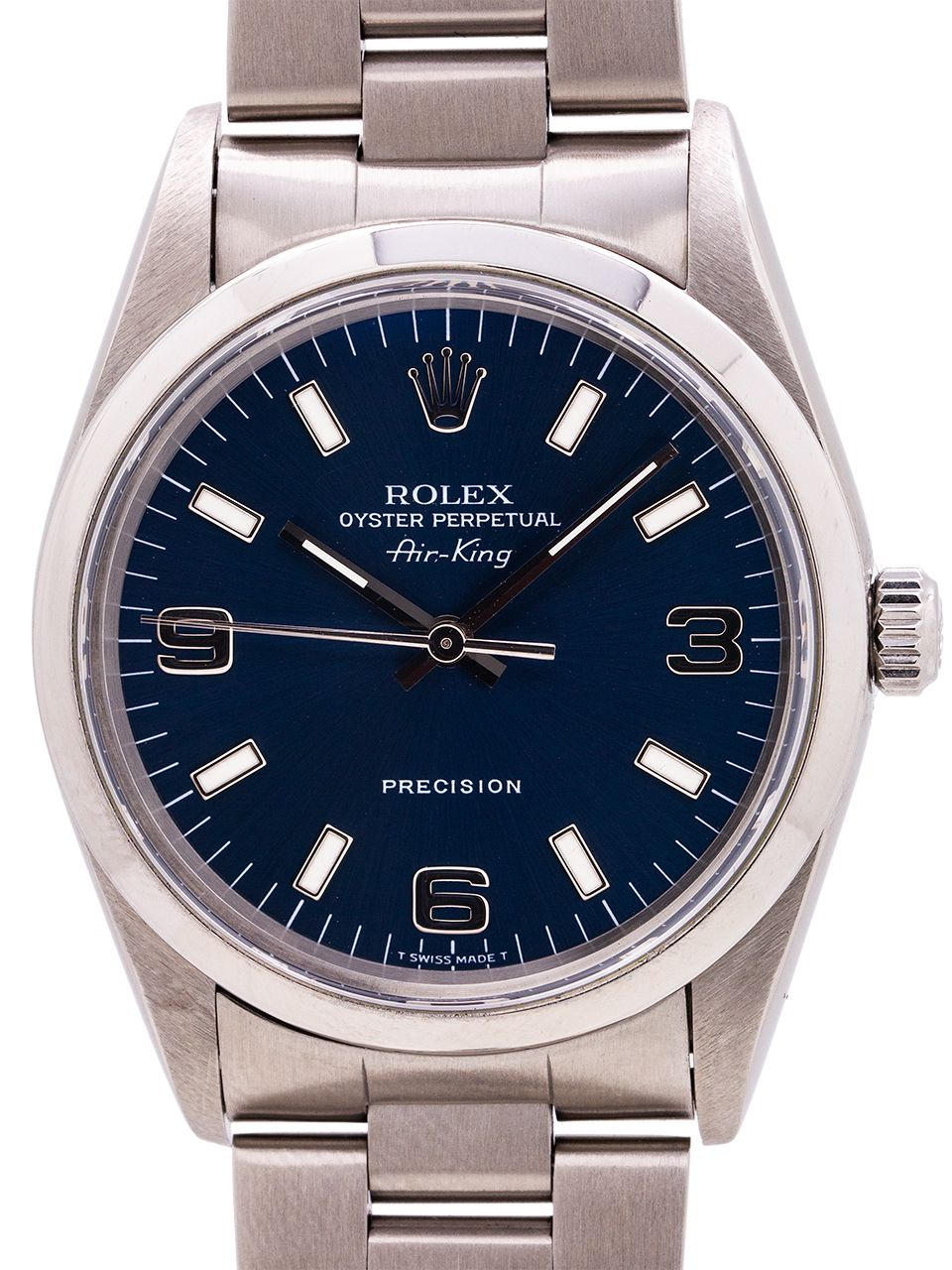 Rolex Stainless Steel Oyster Perpetual Blue Dial AirKing