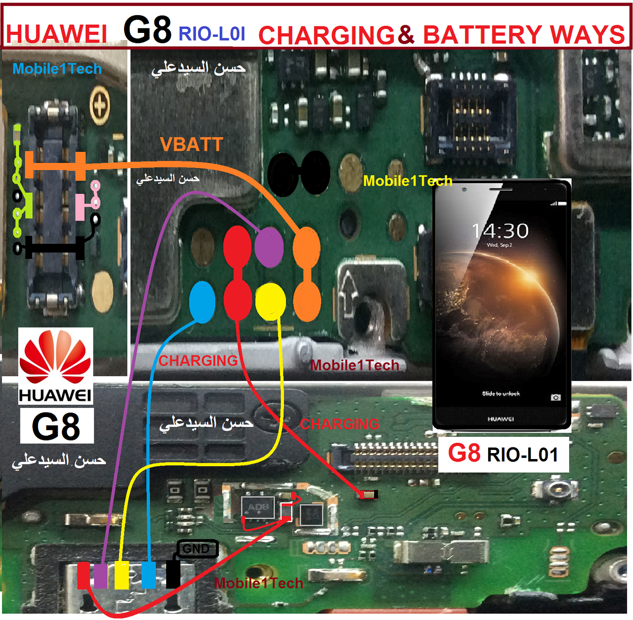 Huawei G8 Usb Charging Problem Solution Jumper Ways | Huawei