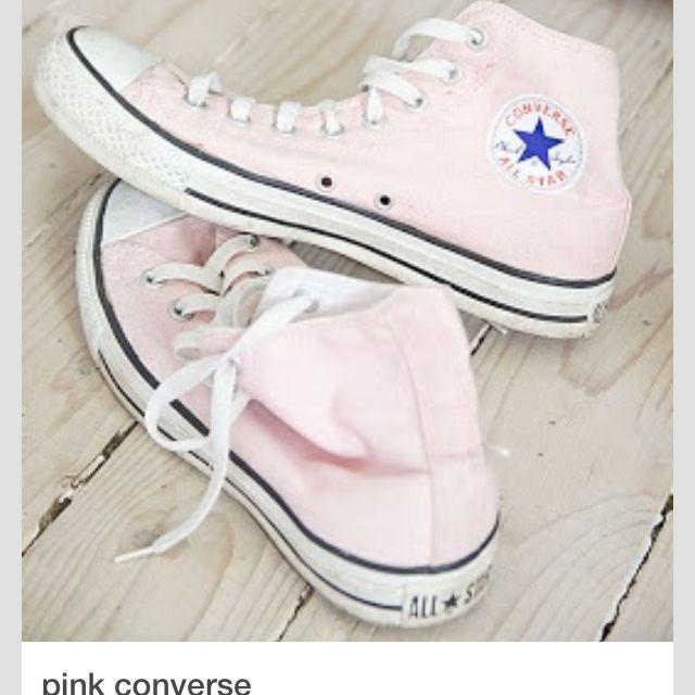 Pink converse, Pink high top converse
