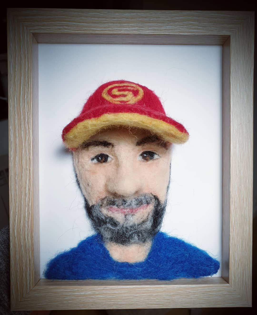 Needlefelt portrait ☺️ #needlefelt #needlefelting #needle #felt #portrait #gift #handmade #doll #artdoll #dollmaker #artdoll #art #artistic #artist #photo #photography #hobby #passion #boy #man #felting #feltingwool #craft #crafts #crafting #dollsneedlefelt Needlefelt portrait ☺️ #needlefelt #needlefelting #needle #felt #portrait #gift #handmade #doll #artdoll #dollmaker #artdoll #art #artistic #artist #photo #photography #hobby #passion #boy #man #felting #feltingwool #craft #crafts #cr #dollsneedlefelt