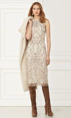 Giordano frisada Vestido - coleção de vestuário Short - RalphLauren.com
