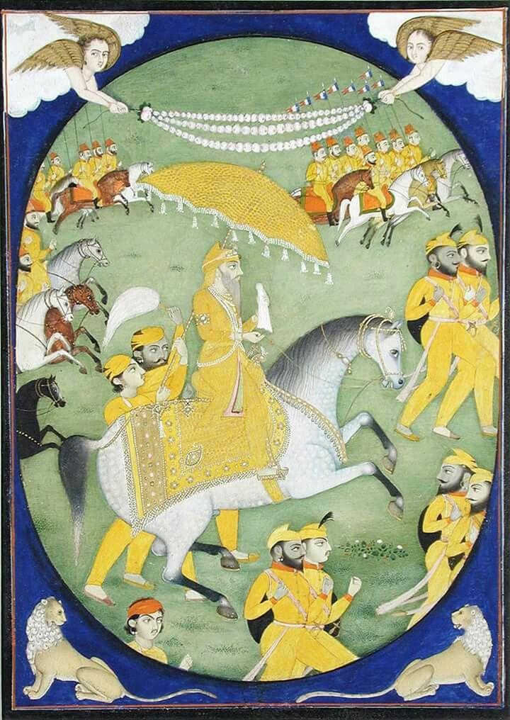 Maharaja Ranjit Singh.