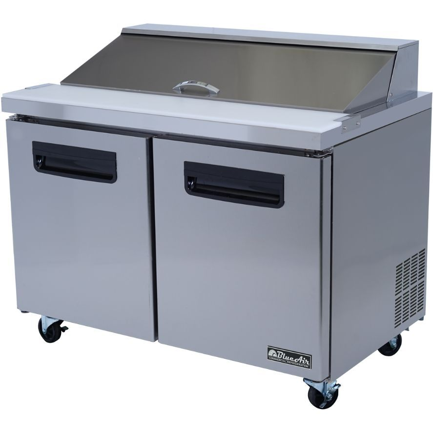 Commercial Stainless Steel Sandwich Prep Table Refrigerator X - Commercial prep table refrigerator