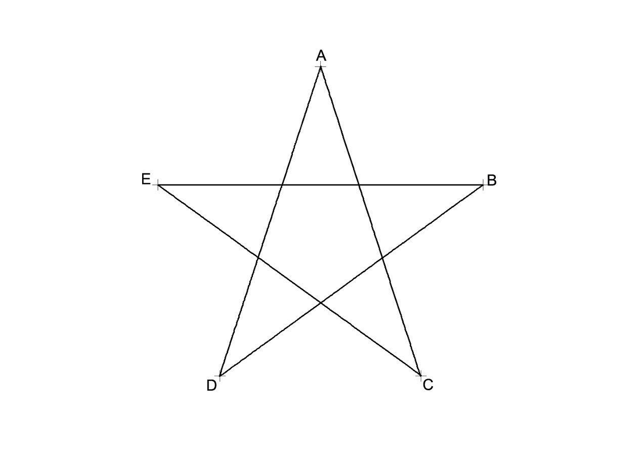 Pentagono Estrellado Estrella De 5 Puntas Dibujos De Estrellas Estrellas De Papel Estrellas
