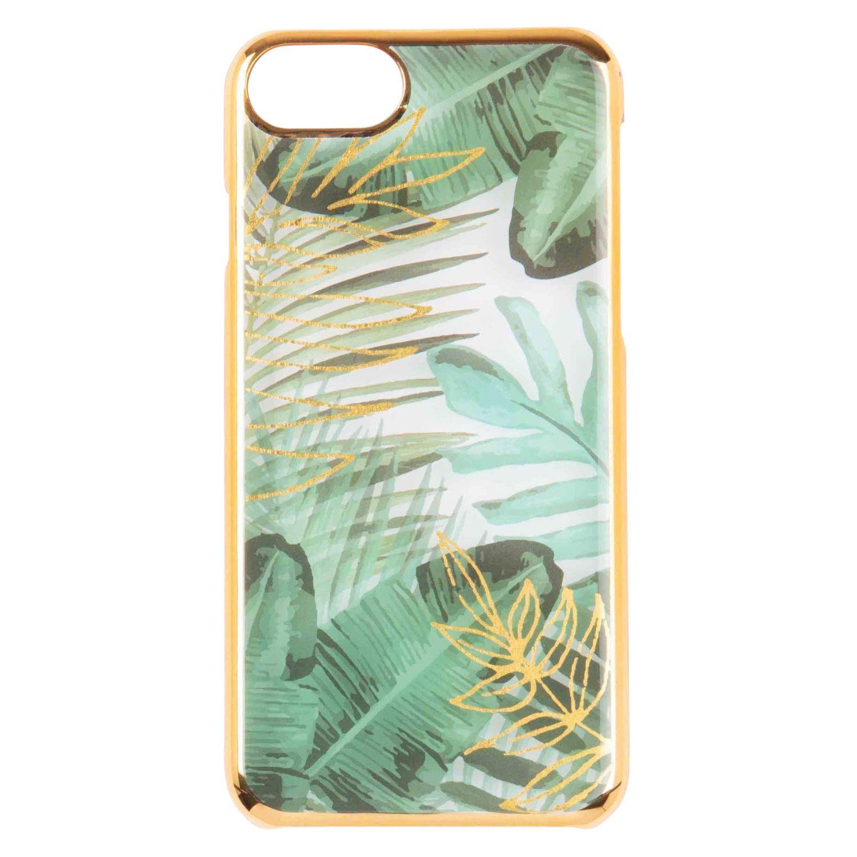 Coque IPhone 5 imprimé tropical vert et doré sur Maisons du Monde ...