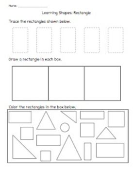 Learning Shapes: Rectangle in 2020 (With images ...