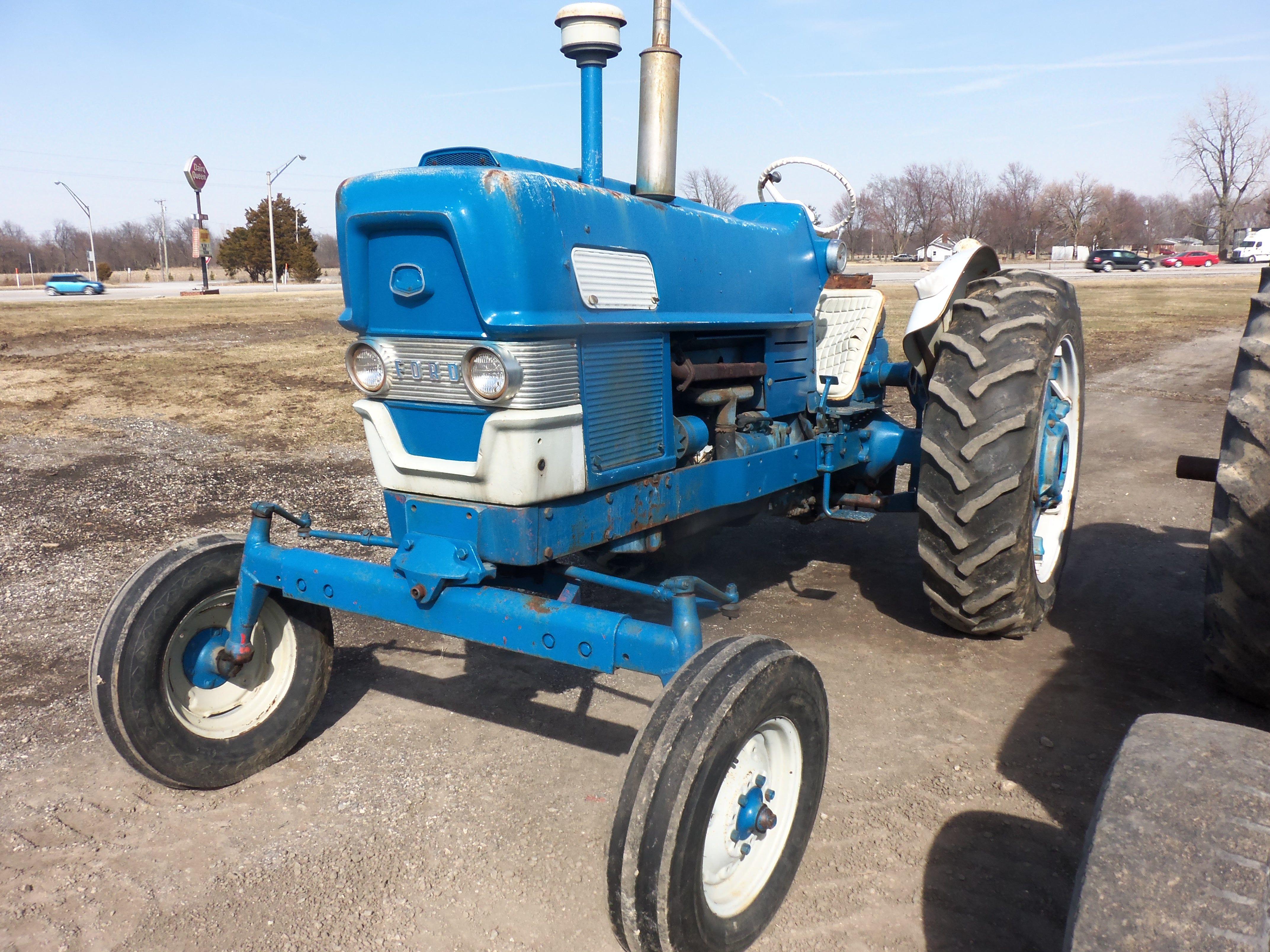 Ford 6000 Tractor Tractors Ford Tractors Vintage Tractors
