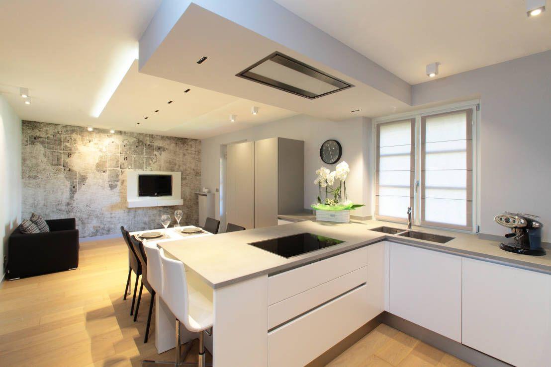 Kleine Küche mit Kochinsel - 5 grandiose Ideen! | Pinterest ...