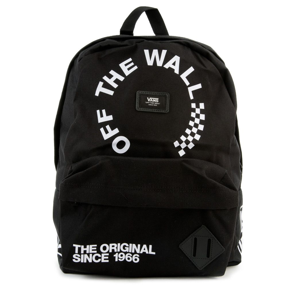 Vans Old Skool Backpack Blackwhite | Backpacks, Vans old