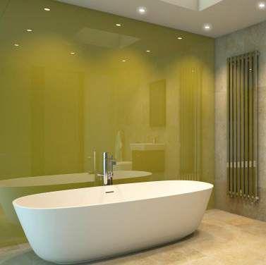 Lustrolite Forest High Gloss Bathroom Wall Panel Yellow Bathroom Walls Bathroom Wall Panels Bathroom Wall
