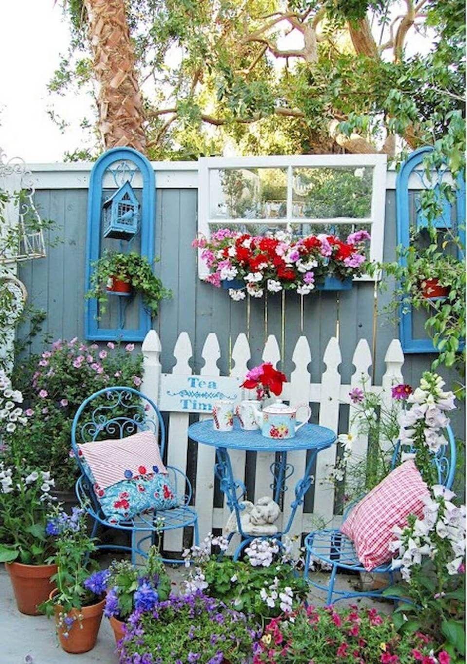 29 Stunning Whimsical Garden Ideas #patioandgardenideas