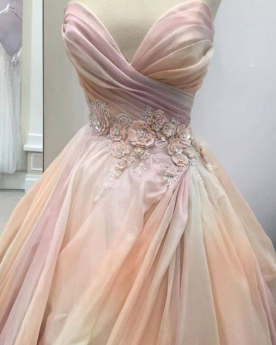 This Pretty Pink Lazaro Wedding Dress 3 Follow Maude And