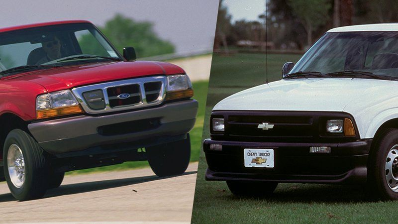 Before The Gmc Hummer Ev And Ford F 150 Electric Gm And Ford Tried