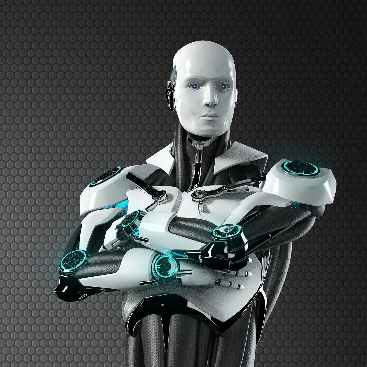 рада своей картинки роботов мужчин то