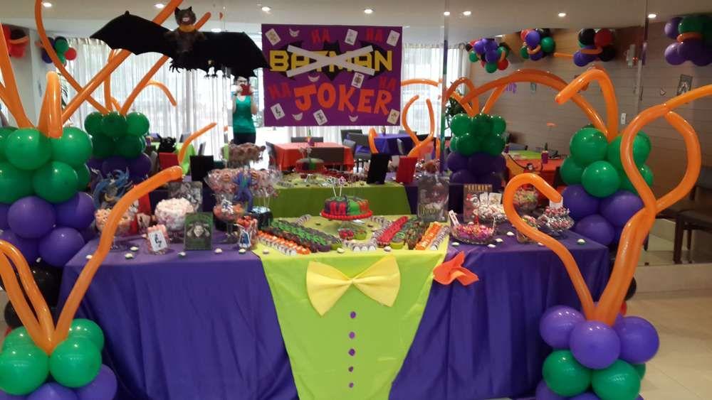 Joker Birthday Party Ideas