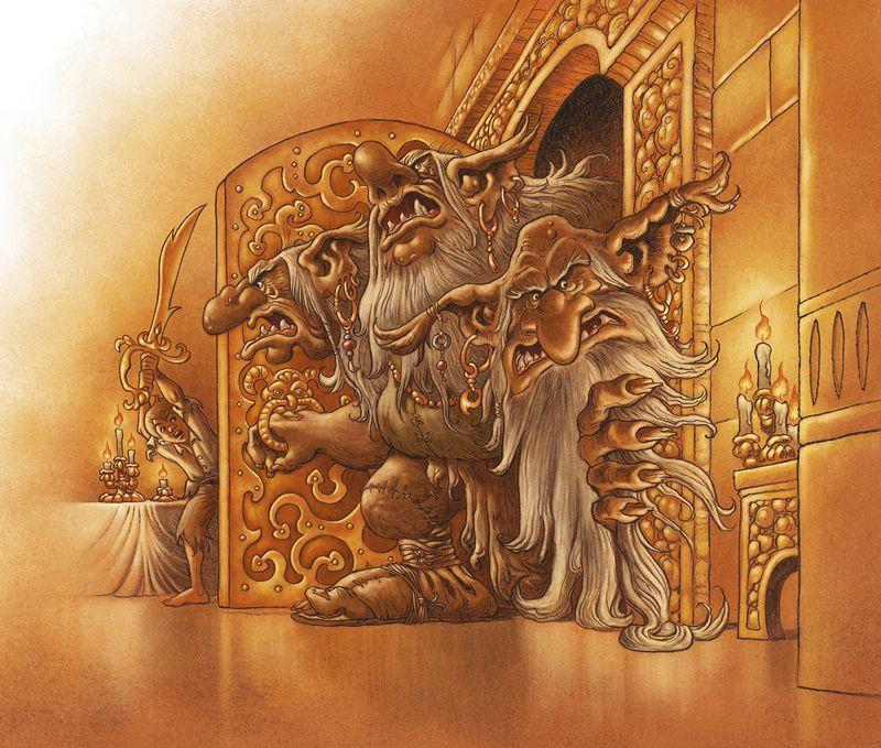 Eventyrbogen. Soria Moria slot