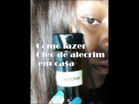 COMO FAZER ÓLEO DE ALECRIM EM CASA