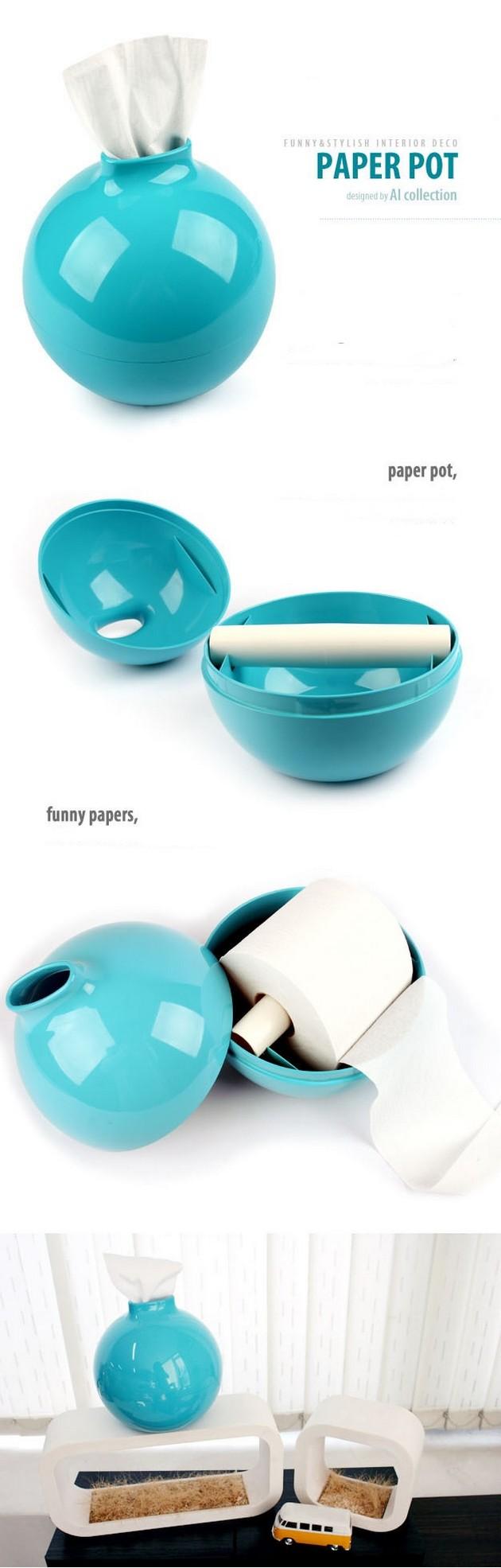 La mejor idea del mundo para guardar el papel higi nico for Lo mejor en muebles para el hogar