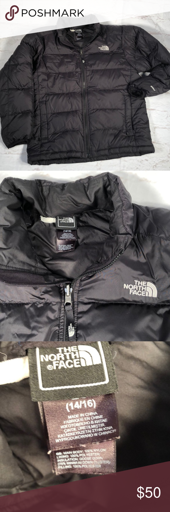 The North Face Puffer Jacket 14 16 Black North Face Puffer Jacket The North Face Puffer Jacket North Face Jacket [ 1740 x 580 Pixel ]