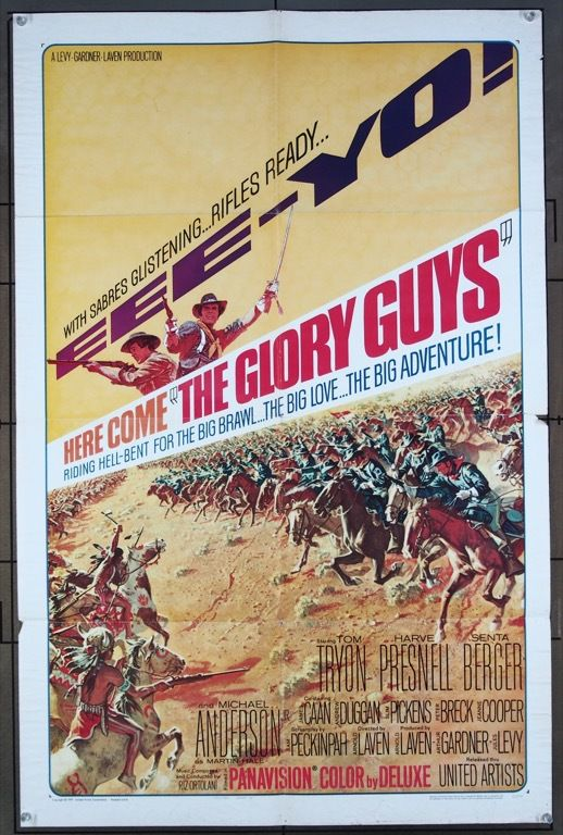 Glory guys, the (1965) 2248 in 2019 | Movie Posters from