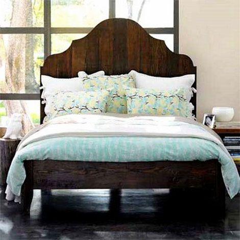 Antigua cama de madera restaurada 1   CAMA-LLIT-BED-LETTO ...